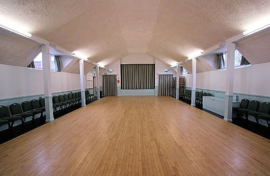 burnside memorial hall - interior