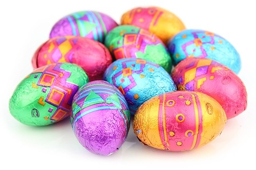 picture of colouful easter eggs