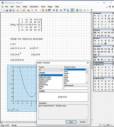 smath desktop version 0.99 (build 6884) screenshot