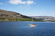Boat on Loch Linnhe