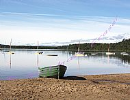Tranquil Loch with Boats