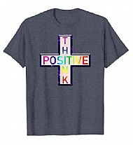 Wellbeing Thoughts Think Positive t-shirt