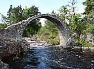 Packhorse Bridge, Carrbridge