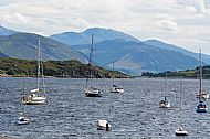 View from Ullapool, West Ross, Scotland