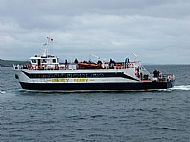 FERRY LEAVING JOHN O'GROATS