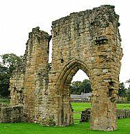 basingwerk abbey, holywell, flintshire
