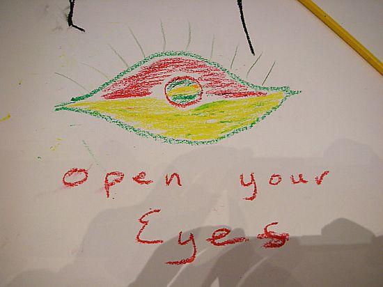 poignant artwork by schoolchildren
