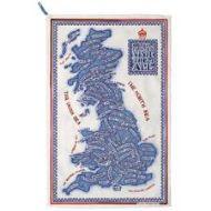 EMMA BRIDGEWATER BRITISH ISLES TEA TOWEL