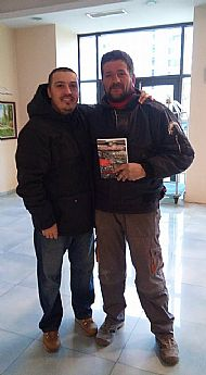 JRF Beyond the Hatred with author-Gilly and Toncho-Old School- Spartak Vana fan