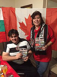 JRF Beyond the Hatred with Neli and Vladi Loko G.O fans from Canada