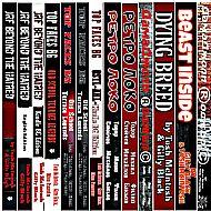 All Books Titles - Spine Vert..
