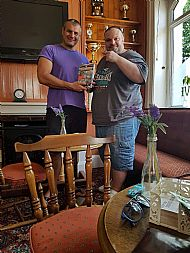 author-tosh-mcintosh and kosta from loko g.o.with-the-book- jrf-bth-bulgarian-edition in asford-england