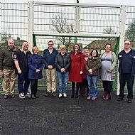 MP Phil Wilson, Cllr Rachel Lumsdon and Fishburn Parish Councillors