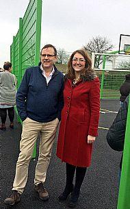 MP Phil Wilson and Cllr Rachel Lumsdon