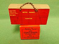 HORNBY B.R. FURNITURE CONTAINER, Circa 1960.