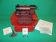 HORNBY Clockwork L.M.S. Type 501 LOCO & TENDER. Circa 1952.