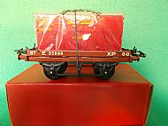 HORNBY FLAT TRUCK with FURNITURE CONTAINER, Circa 1953