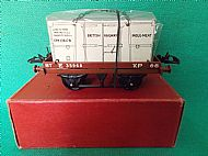 HORNBY FLAT WAGON with INSULATED CONTAINER.