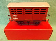 HORNBY No.1 L.M.S. CATTLE TRUCK, 1953.