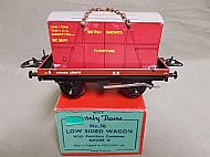 No.50 LOW SIDED WAGON with FURNITURE CONTAINER.