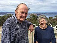 Miles and Lynne, Tasmania