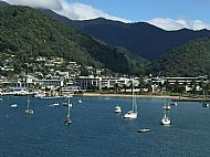 Arriving by ferry at Picton
