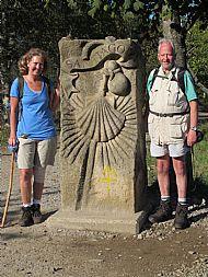 Dena and JMGG at SANTIAGO stone