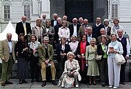 Top: J, Simon, Edmund, Anthony Buckwell Second top: Lewis, Marguerite, Prue, Nigel, S, Giles, Brian, Anthony Morris, Liz, Freydis Third top: Gordon, Tim, Peter Front: Andrew, Lavinia, Jane, Andrew, Henrietta, Georgina, Mary, Jennie, Fiona, Rozzer, Clare