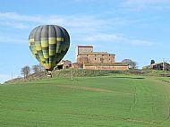 The other balloon near its landing spot