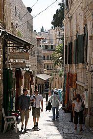 Jerusalem, the Via Dolorosa
