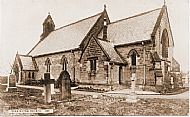 St Matthews Church -built in 1886(from the collection of Mr Raymond Thompson