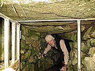 Exploring the Souterrain at Kilmuir, Isle of Skye