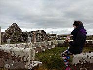 Trumpan Church, Waternish, Skye