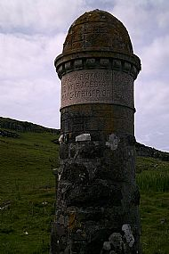 Isle of Muck Monument