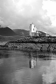 The Lighthouse on Eileane a'Chait, Plockton