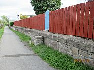 The Wall at the Bottom of my Garden