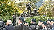 Kelvingrove Cameronian Memorial 2015.