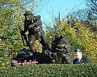 Kelvingrove Remembrance Sunday 2017.