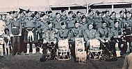 Cameronian cadet band.