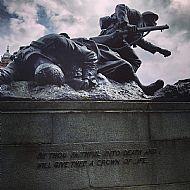 Kelvingrove memorial.