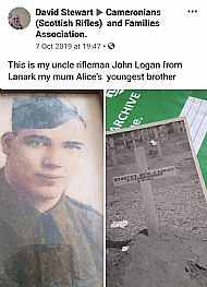 John Logan of Lanark.