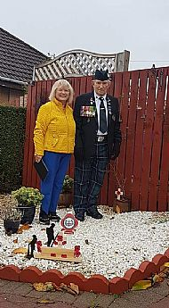 Saltcoats Rememberance Day
