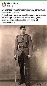 Lt Frank Wright 2nd btn.