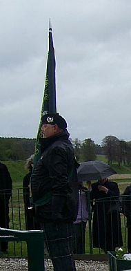 Standard Bearer Billy McNeil, 2012.