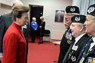 Meeting HRH Princess Anne.