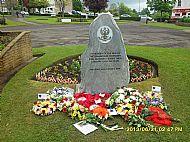 Carluke Lanarkshire Yeomanry Memorial 2016.