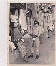 Bob Steven. Aden 1966.