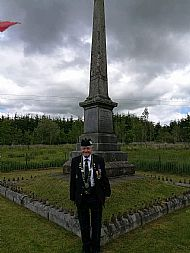 Doc at Battle of Drumclog Service.