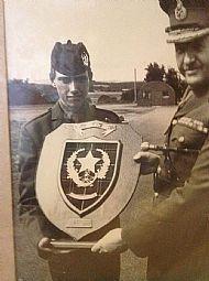 Richard Weir cadet of year 1974.