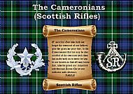 Cameronians Prayer.